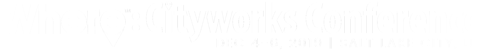 Where: Cityworks Conference
